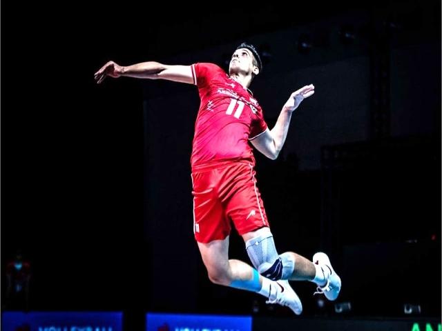 پیروزی ایران برابر آمریکا در مسابقات لیگ ملتهای والیبال