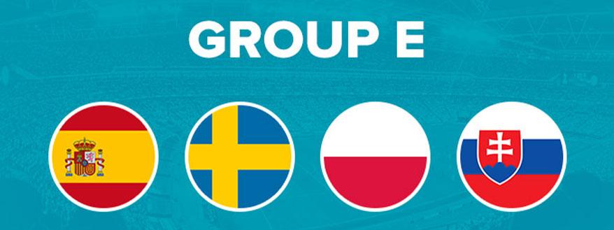گروه E یورو 2020