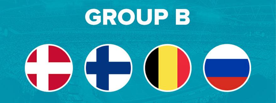 گروه B یورو 2020