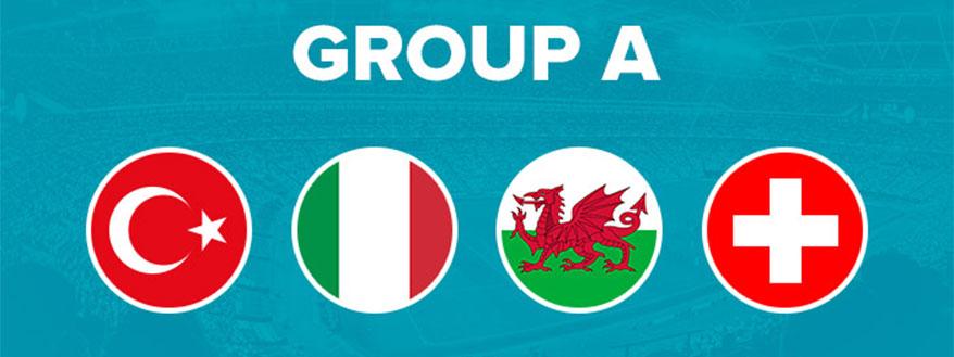 گروه A یورو 2020