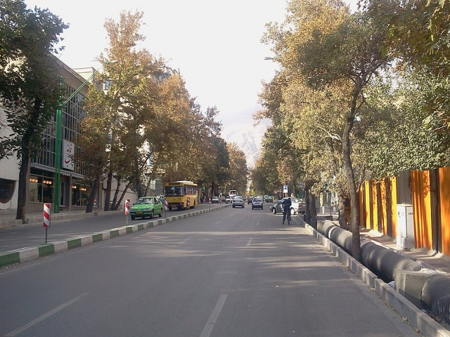 محله کاج ( خیابان شریعتی)