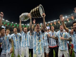 آرژانتین با «مسی» قهرمان کوپا آمریکا شد