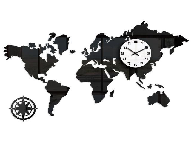 جدول ساعت و دمای شهرهای مهم دنیا