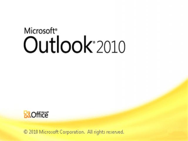 تنظیمات ایمیل در Outlook 2010