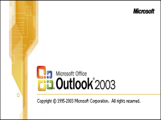 تنظیمات ایمیل در Outlook 2003