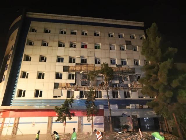 انفجار در ساختمان 63 واحدی در غرب تهران