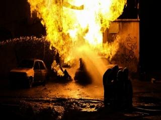 آتش سوزی در کارخانه مبل سازی با 5 فوتی