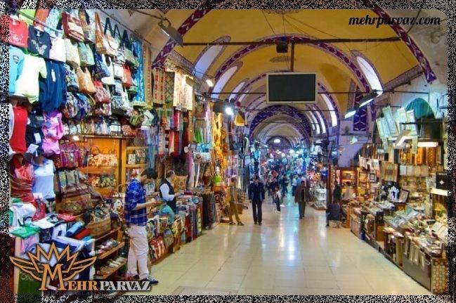 بازار بزرگ استانبول، قدیمی و جذاب برای گردشگران