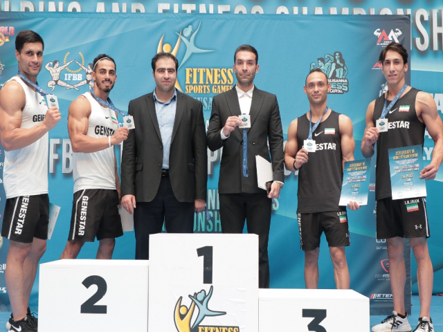 تیم ملی فیتنس چلنج ایران، نایب قهرمان بازیهای جهانی اسپانیا شد