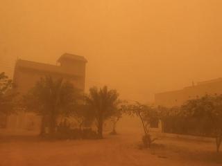 احتمال وقوع طوفان شن در 10 استان