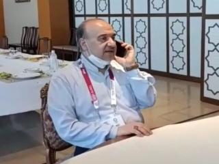 تبریک تلفنی وزیر ورزش به جواد فروغی