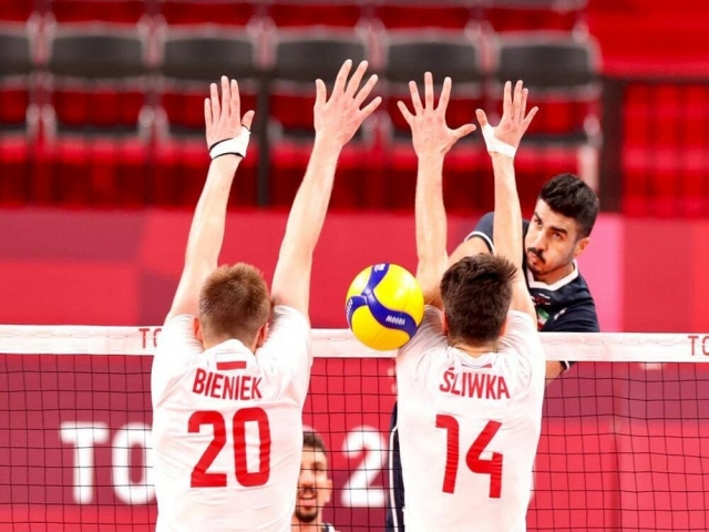 شروع طوفانی والیبال ایران در المپیک توکیو