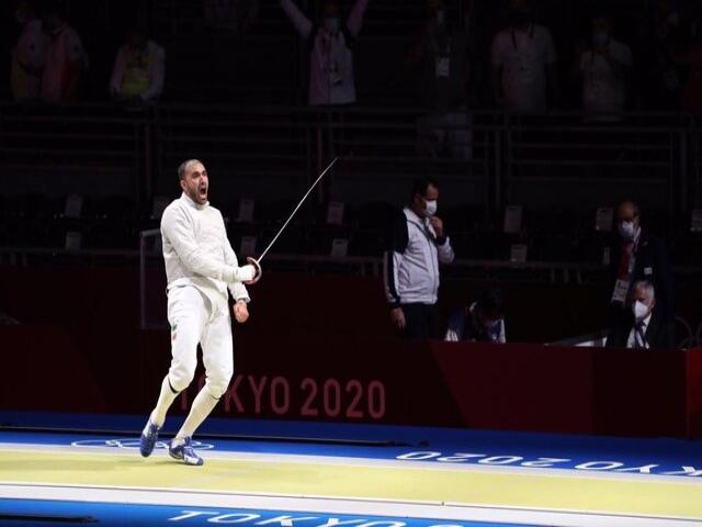 نتایج شمشیربازی ایران در روز اول المپیک : صعود پاکدامن ، حذف عابدینی و رهبری