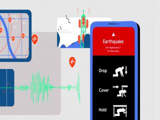 راه اندازی سیستم هشدار زلزله اندروید!