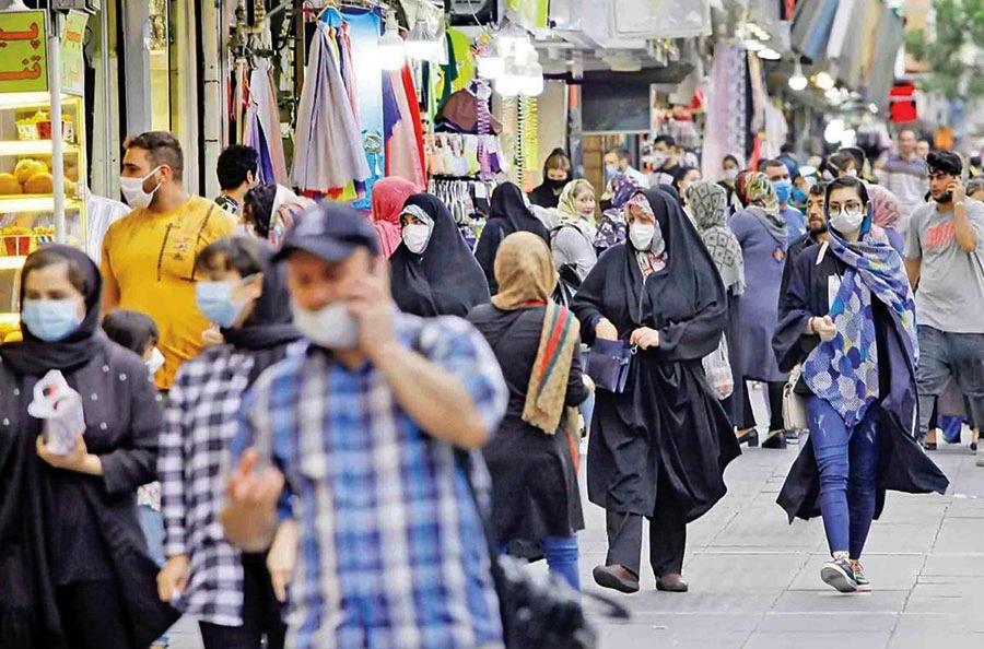 تهران و 91 شهرستان دیگر در وضعیت قرمز کرونا
