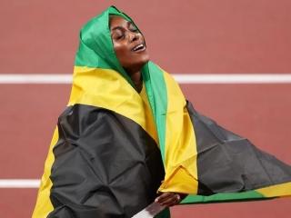 سه مدال دوی صدمتر از آن جامائیکا ؛ عنوان تکراری سریع ترین زن جهان