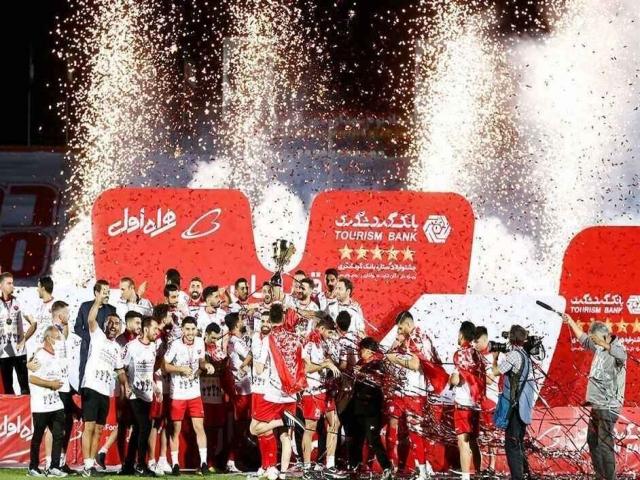 پنجمین قهرمانی پیاپی پرسپولیس در لیگ برتر