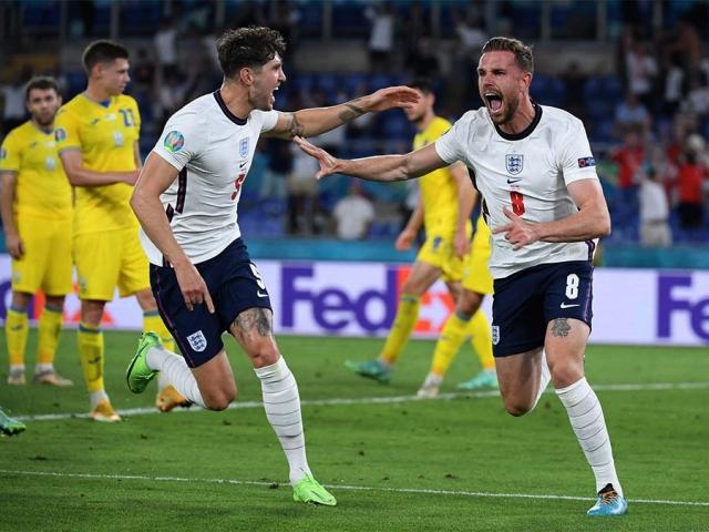 انگلیس با گل باران اوکراین به نیمه نهایی یورو 2020 رسید