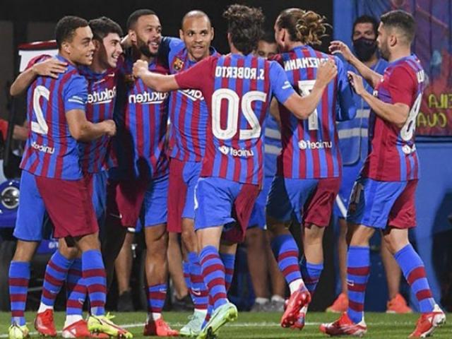بارسلونا 4-2 سوسیداد؛ شروع امیدوارانه بارسلونای بدون مسی