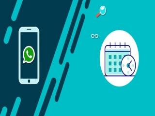 آموزش ارسال پیام مدت دار در واتساپ