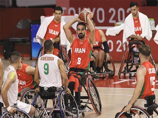 تیم ملی بسکتبال با ویلچر ایران الجزایر را شکست داد