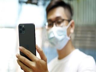 تشخیض چهره با ماسک در آیفون 13