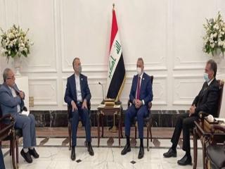 امیر عبداللهیان با نخست وزیر عراق دیدار کرد