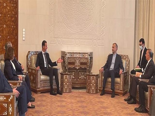 سفر وزیر امورخارجه به دمشق