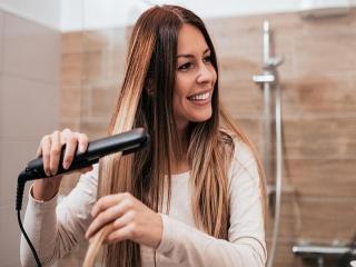 نحوه اتو کشیدن مو + نکات مهم