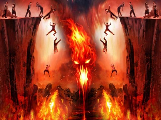 چشم و گوش بسته ها بفرمایید جهنم!