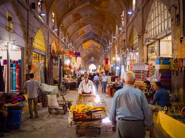 بازارهای شلوغ عید