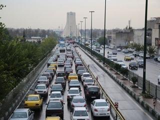 وضعیت امروز ترافیک در پایتخت