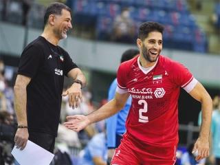 والیبال قهرمانی آسیا؛ ایران 3-0 پاکستان