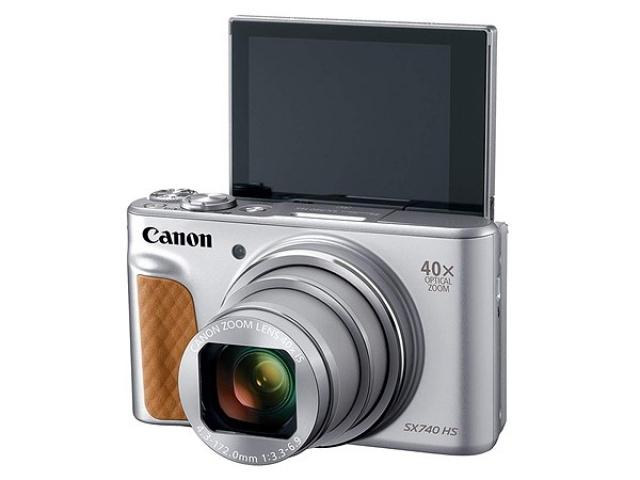 کانن و معرفی دوربین PowerShot SX740 HS