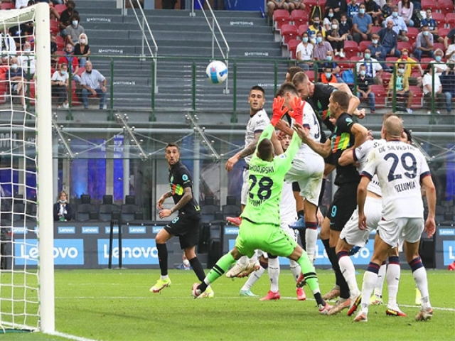 اینترمیلان 6-1 بولونیا؛ آتش بازی افعی ها در خانه