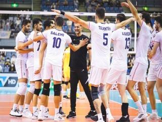 قهرمانی تیم والیبال ایران در مسابقات قهرمانی آسیا