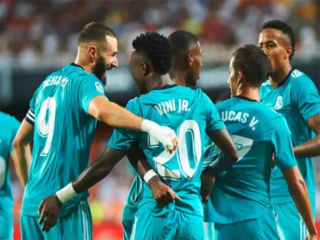 والنسیا 1-2 رئال مادرید؛ رستگاری رئال در دقایق پایانی