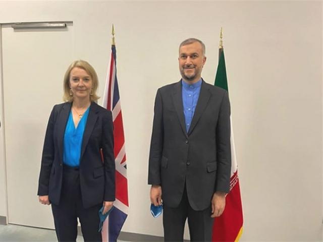 دیدار وزرای خارجه ایران و انگلیس در حاشیه اجلاس سازمان ملل