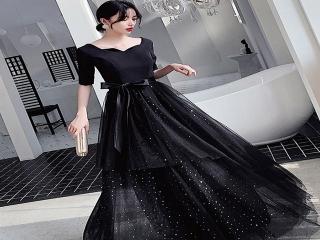 مدل لباس مجلسی رنگ مشکی ؛ خاص و جذاب