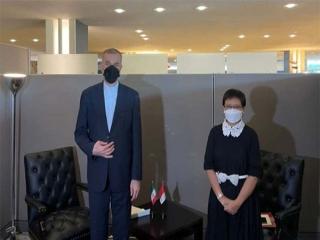 دیداروزیر امورخارجه ایران با همتای اندونزیایی اش در نیویورک
