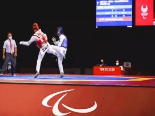 راهیابی نماینده تکواندو ایران به نیمه نهایی پارالمپیک 2020