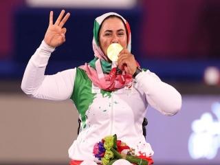 زهرا نعمتی؛ صاحب سه طلای پارالمپیک