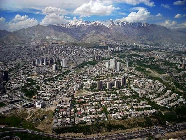 محله های شرق تهران