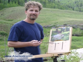 """نقاشی های دیدنی از """"Mark Keathley"""""""
