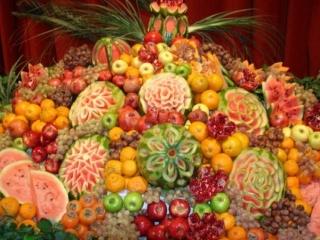 خواص میوههای شب یلدا