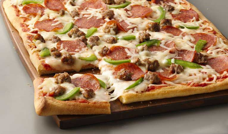 پیتزا پپرونی-pizza pepperoni