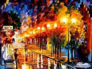 نقاشی های زیبا با رنگ روغن