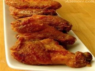 طرز پخت بال مرغ