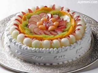 کیک میوه