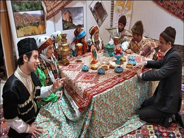 پوشش محلی زنان و مردان استان زنجان